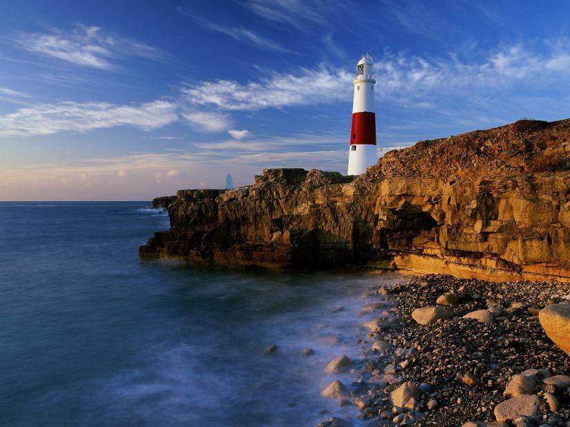 Lighthouse, Dorset, England